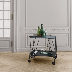 Table roulante Gubi MATEGOT TROLLEY