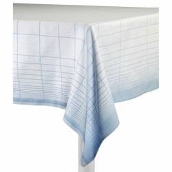 Textile Nappe TABLECLOTH DOUBLE GRID HAY