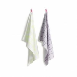 Textile Set de 2 torchons TEA TOWELS Kitchen Tiles HAY