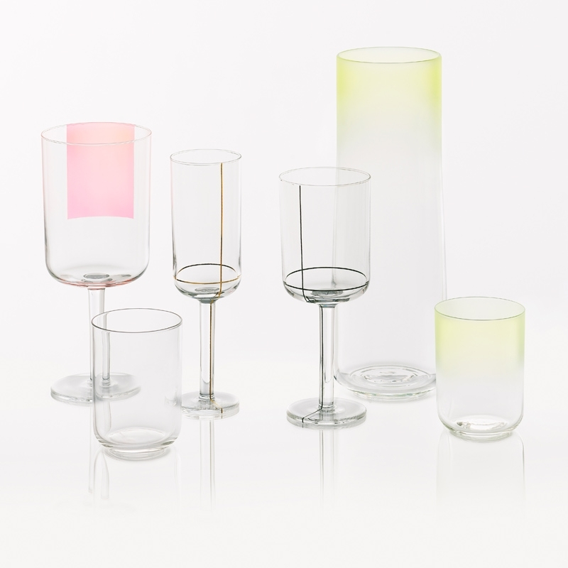 Set de 8 verres à eau COLOUR HIGH