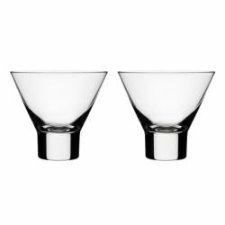Carafe & verre Set de 2 verres à cocktail AARNE IITTALA