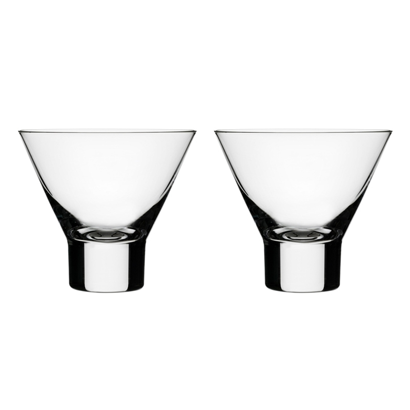 Carafe & verre Iittala Set de 2 verres à cocktail AARNE
