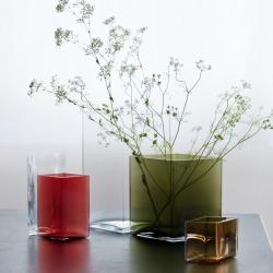 Vase Iittala Vase RUUTU L 11,5 x H 14