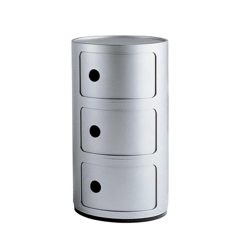 Meuble De Rangement Componibili 3 Tiroirs   Kartell - Silvera