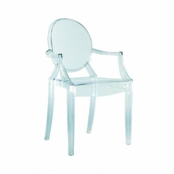 louis ghost petit fauteuil kartell. Black Bedroom Furniture Sets. Home Design Ideas
