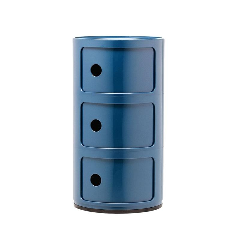 Meuble de rangement Kartell COMPONIBILI 3 tiroirs