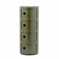 Meuble de rangement COMPONIBILI 4 tiroirs KARTELL