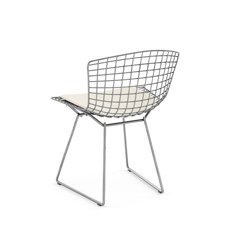bertoia avec galette d 39 assise chaise knoll. Black Bedroom Furniture Sets. Home Design Ideas