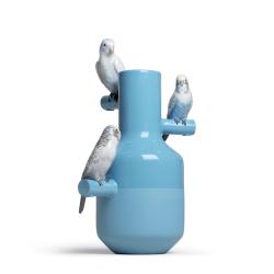 Objet insolite & décoratif Vase PARROT PARADE LLADRO