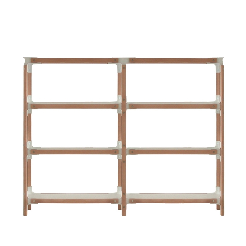 STEELWOOD SHELVING SYSTEM 4 plateaux 2 modules