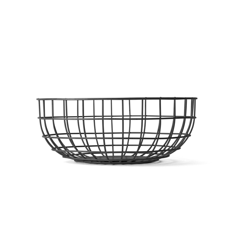 Centre de table Menu Corbeille NORM WIRE