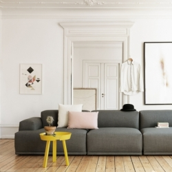 Coussin Muuto Coussin MINGLE Coda/ Steelcut 50x50