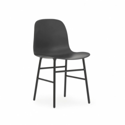 FORM CHAIR piètement acier Normann Copenhagen