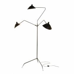 Lampadaire LAMPADAIRE 3 BRAS SERGE MOUILLE