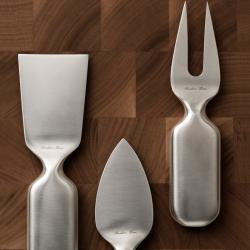 Couvert Serafino zani Set de 3 couteaux à fromage CINQUE STELLE