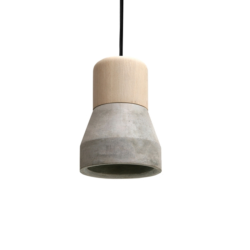 Suspension Specimen CEMENT WOOD LAMP Smoke