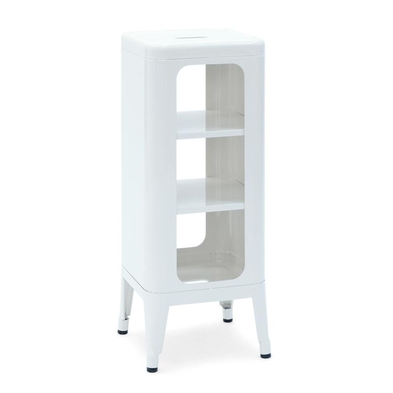 Meuble tabouret h75 meuble de rangement tolix - Meuble tolix ...