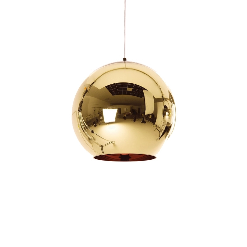 Suspension Tom dixon BRONZE COPPER SHADE