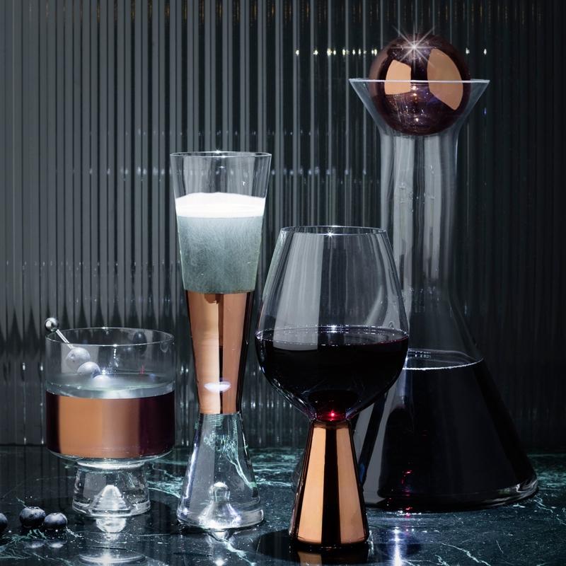 set de 2 verres à champagne TANK