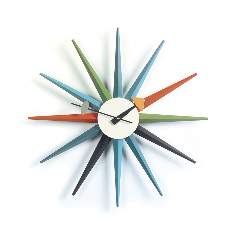 Horloge SUNBURST CLOCK