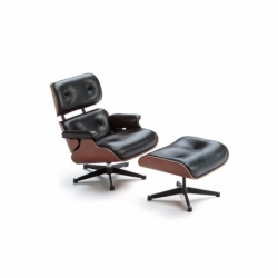 MINIATURE LOUNGE CHAIR ET OTTOMAN VITRA