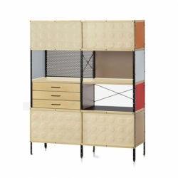 Etagère EAMES STORAGE UNIT BOOKCASE VITRA