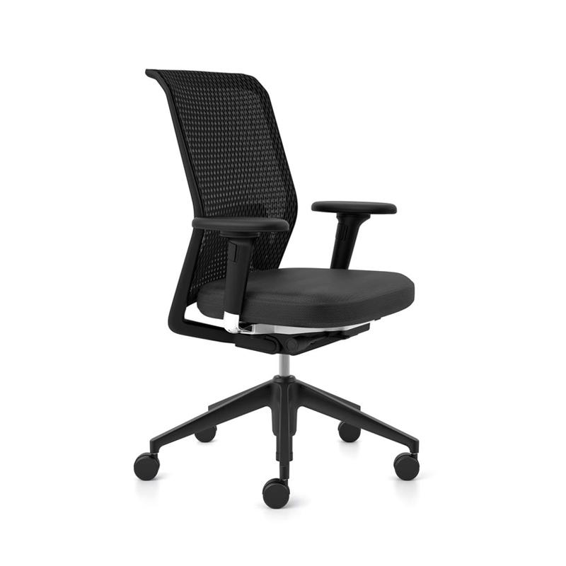 fauteuil de bureau id mesh vitra silvera. Black Bedroom Furniture Sets. Home Design Ideas