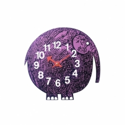 Horloge ZOO TIMER Elihu the Elephant VITRA