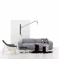 Table d'appoint guéridon Vitra METAL SIDE TABLE