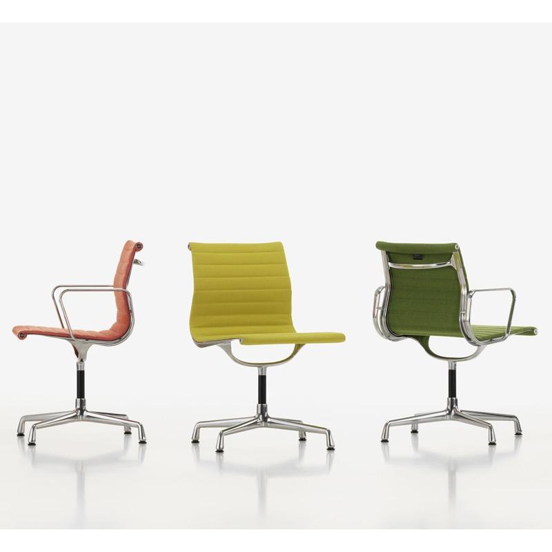 aluminium chair ea 103 fixe fauteuil de bureau vitra. Black Bedroom Furniture Sets. Home Design Ideas