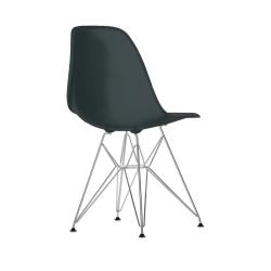 Chaise EAMES PLASTIC CHAIR DSR Pieds Tour Eiffel H43 VITRA