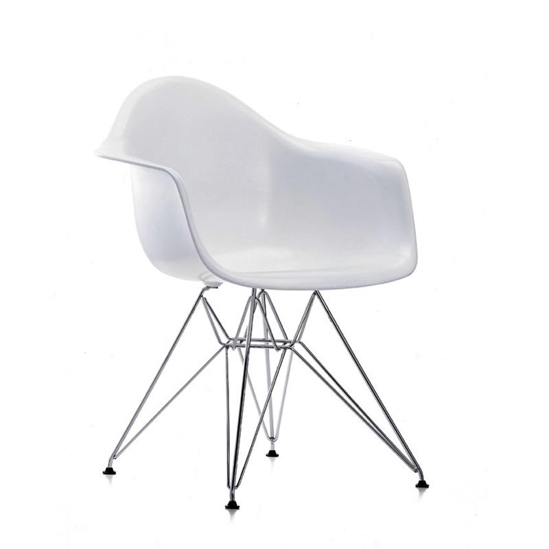 eames fauteuil EAMES PLASTIC ARMCHAIR DAR pieds Tour Eiffel H43