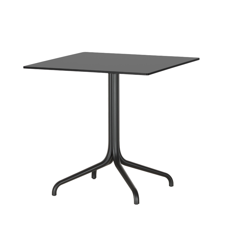 Table Vitra BELLEVILLE OUTDOOR 75x75