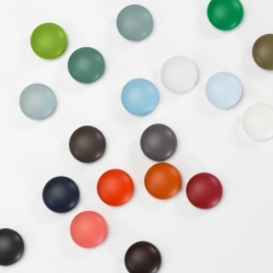 Objet pratique Vitra Set de 5 aimants MAGNET DOTS