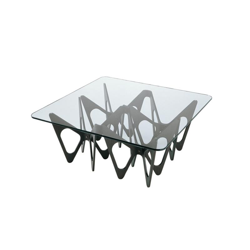 Table basse Zanotta BUTTERFLY 90x90