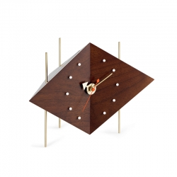 Pendule DIAMOND CLOCK VITRA