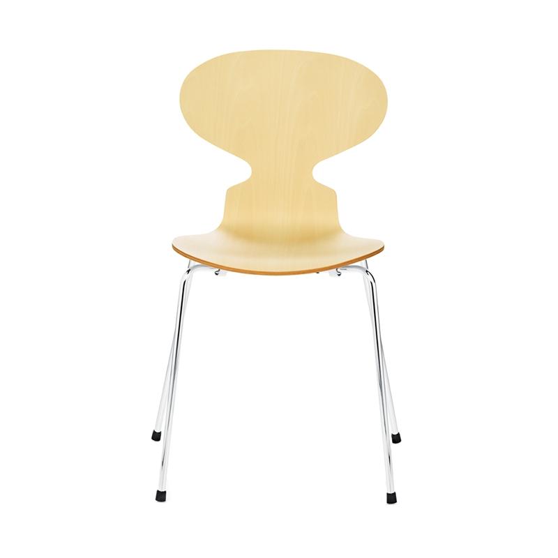 fourmi 4 pieds bois chaise fritz hansen. Black Bedroom Furniture Sets. Home Design Ideas