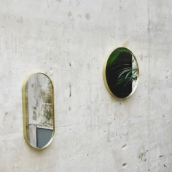 Miroir Eno studio Miroir CRUZIANA rond