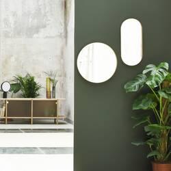 Miroir Eno studio miroir CRUZIANA ovale