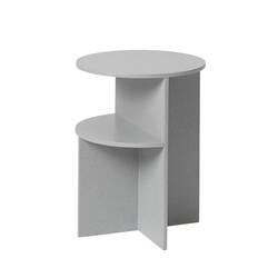 Table d'appoint guéridon HALVES SIDE TABLE MUUTO