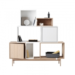 Etagère Muuto STACKED Medium avec porte