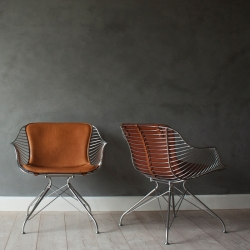 Fauteuil Overgaard & dyrman WIRE LOUNGE CHAIR