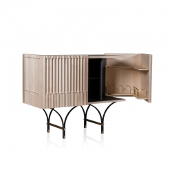 Meuble de rangement / Meuble bar GUELL L125 BAXTER MADE IN ITALY