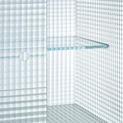 Meuble de rangement Glas italia COMMODORE Bas verre quadrillé