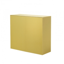 Meuble de rangement MAGIC BOX 2 portes GLAS ITALIA
