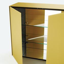 Meuble de rangement Glas italia MAGIC BOX 2 portes