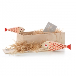 Objet insolite & décoratif Vitra WOODEN DOLL Mother Fish & Child
