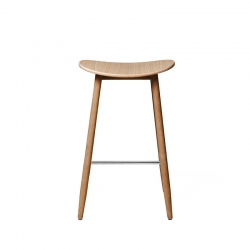 Tabouret haut Massproductions ICHA BAR STOOL