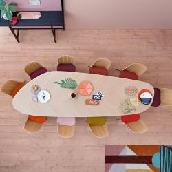 Table Zanotta TWEED L 300