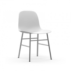 Chaise Normann copenhagen FORM CHAIR piètement chrome